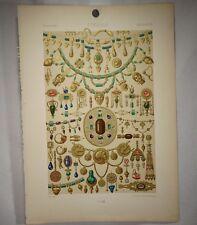 Antique Firmin Didot Chromolithograph, Etruscan Design Print    -  54721
