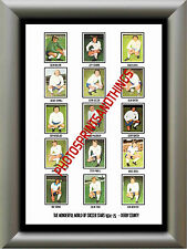 DERBY COUNTY - 1974-75 - REPRO STICKERS A3 POSTER PRINT