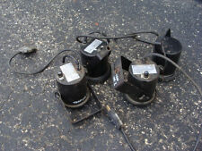 Lot of 4 Various Incandescent Stage Spot Lights 30 Watts: American DJ, Superstar