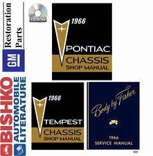 1966 Pontiac Tempest Grand Prix Mechanic Workshop Service Repair Manual CD OEM