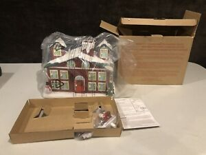 Vintage Avon 2011 Countdown To Christmas House Advent Calendar Decoration BNIB