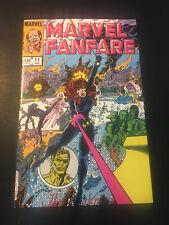 MARVEL FANFARE #11 1983 MARVEL NM!!