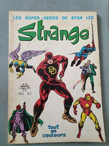 BD Comics Strange T27 Stan Lee LUG