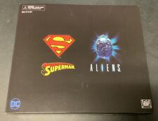 NECA SDCC 2019 Exclusive Superman vs Alien Exclusive Figure Set New MIB Rare