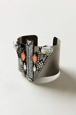 Pantages Cuff Bangle Swarovski Crystal Bracelet By Aldazabal Spain Anthropologie