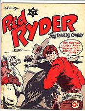 "Red Ryder No 47-1950's - Australian - ""Bullet Through Hat Cover!  """