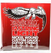 Ernie Ball P02233 12 String Light Electric Guitar Strings 9-46