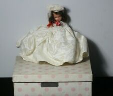 Vintage Nancy Ann Storybook Dolls #191 For December Just A Dear in Box