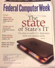 Federal Computer Weekly Magazine The State's IT August 20, 2001 080117nonrh