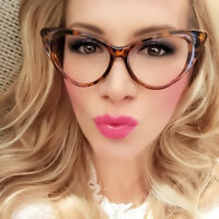 Cat Eye Womens Eyeglasses Clear Lens Nikita Retro Vintage Fashion Sunglasses
