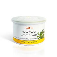 GiGi Tea Tree Creme Wax 14oz / 396g