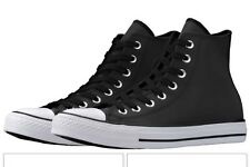 Converse CT Hi Top Chuck Taylor All Star Reflective Black 150932C Men's 11