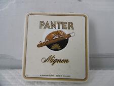Boite métal Cigares Panter Mignon / cigar box