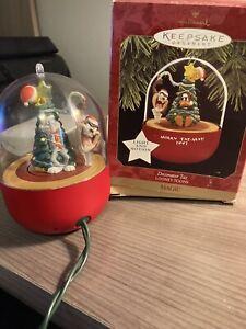 1997 Hallmark Looney Tunes Decorator Taz light & motion ornament in box