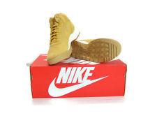 Nike Men's Haystack Light Brown Hoodland Suede Boot New in Box