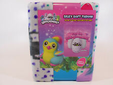 """Hatchimals Feel the Egg-citement Silky Soft Throw Blanket 40"""" x 50"""""""