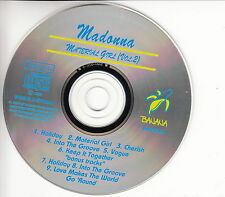MADONNA - MATERIAL GIRL Vol. 2 - Live Recording - CD 1993 Made in Australia