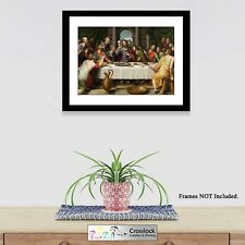 The Last Supper Jesus Photo Picture Print ONLY Christianity Size A4 or A3 Prints
