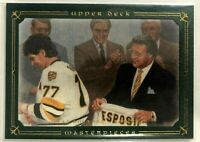 2008-09 Ray Bourque Upper Deck Masterpieces Green Framed #14 Boston Bruins #/99