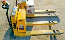 New listing Only 219 hours, Yale Mpw050 electric pallet jack lift, 5000lbs capacity