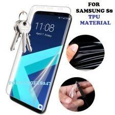 TPU Curved Full Coverage Screen Protector Film Cover for Samsung Galaxy S8 Plus