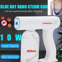 Handheld USB Nano Sanitizer Spray Sprayer Cordless Disinfectant Gun Machine