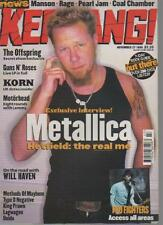 KERRANG MAGAZINE  ISSUE 778  NOVEMBER 27 1999  METALLICA    LS