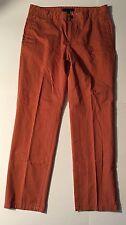 Tommy Hilfiger Orange Pants 34/32