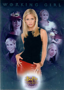 Buffy the Vampire Slayer Women of Sunnydale Working Girl Case Loader Card CL-1