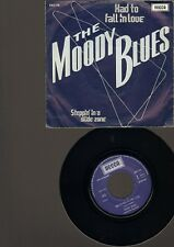 "MOODY BLUES Had To Fall In Love  7"" SINGLE Stepping In A Slide Zone"
