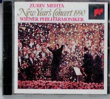 NEW YEARS CONCERT 1990 Zubin Mehta - NEU & OVP - Sealed
