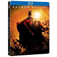 Batman Begins Blu-Ray Steelbook Region Free