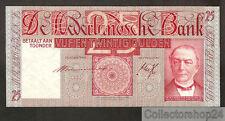 Nederland - Netherlands 25 Gulden Mees 1931 Pr / Vf  - KE050413