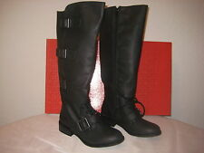 R2 Footwear Shoes Size 6 M Womens New Clermont Black Knee High Fashion Boots