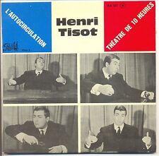 """HENRI TISSOT Vinile 45 giri EP 7""""ilauto IN CIRCOLAZIONE Teatro DI VARGA F"""