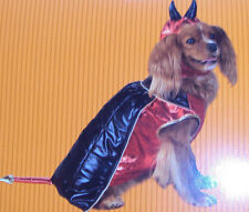 Dog Costume Devil Size Medium – Brand New