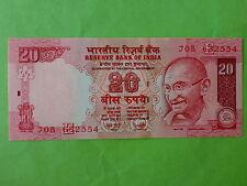 India 20 Rupees 2007 (PERFECT UNC)