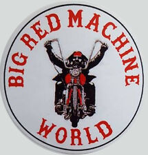 Hells Angels Support  BIG RED MACHINE WORLD  Aufkleber  Original 81 Support
