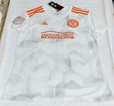 ADIDAS MLS Atlanta United FC White Away Replica Soccer Jersey NEW Womens M 2XL