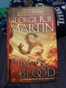 Fire and Blood GOT Hardcover First Edition 1st Printing 2014 HC/DJ