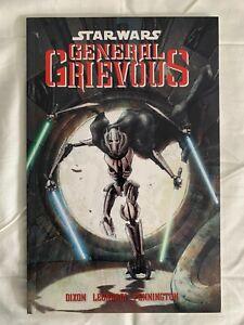 Star Wars GENERAL GRIEVOUS TPB 1st Edition Dark Horse Near Mint OOP RARE