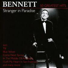 TONY BENNETT - STRANGER IN PARADISE-50 GREATEST  2 CD NEUF