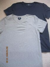 Hackett 'london' 2 Pack of V Neck T Shirts Size M