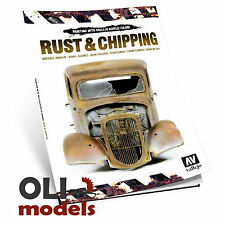RUST & CHIPPING TECHNIQUES Book by Rinaldi, Scratchmod & Wilder - Vallejo 75011