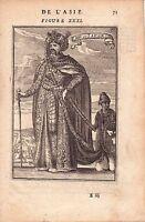 Gravure XVIIe EMPEREUR du Japon Emperor of Japan  日本国 天皇 1683 江戸時代