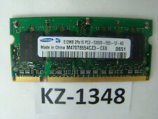 SAMSUNG 512MB pc5300s M470T6554CZ3-CE6 (SO-DIMM 8chip) #kz-1348