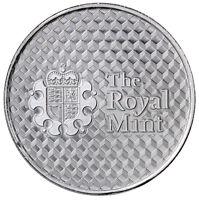 Royal Mint Center Shield 1 Troy oz. .999 Fine Silver Round SKU45814