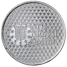 Royal Mint Center Shield 1 Troy oz. .999 Fine Silver Round SKU45814