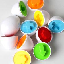 Bébé enfants simulation oeufs puzzle apprentissage développement jouet éducat@LC