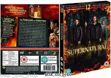 SUPERNATURAL 12 (2016-2017): Horror Demons TV Season Series - NEW  DVD UK not US